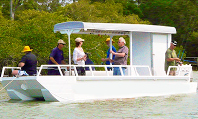 Noosaville Fishing Charter on 23ft 'Jay-Lea' Boat