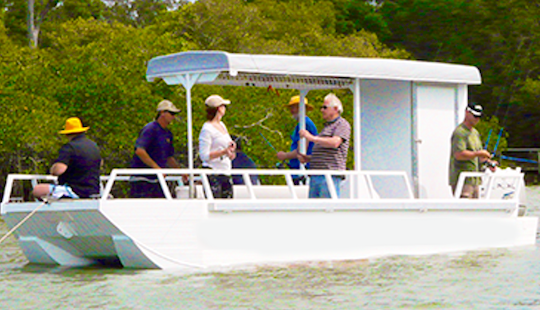 Noosaville Fishing Charter On 23ft 'jay-lea' Boat