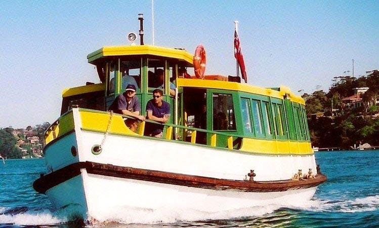 Enjoy Canal Boat Ferries in Australia, Cronulla