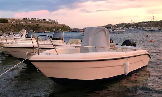 Charter 16' Marampou Center Console In Ornos, Greece