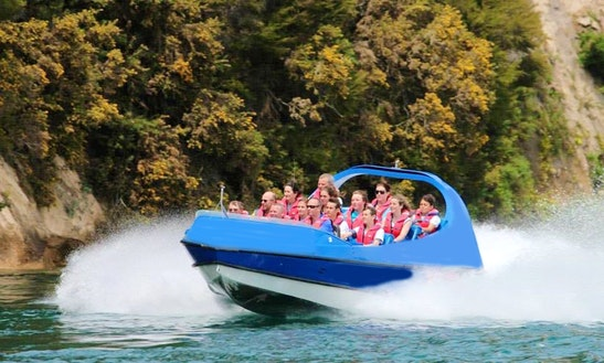 Jet Boat Ride Trips In The Waikato River