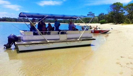 Explore Noosaville, Australia On 32ft Bbq Pontoon