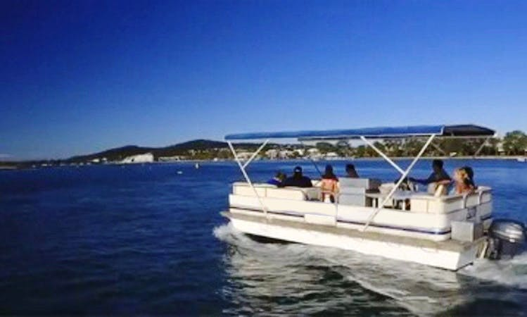 Enjoy Noosaville, Australia on 15 Seater Pontoon Deluxe