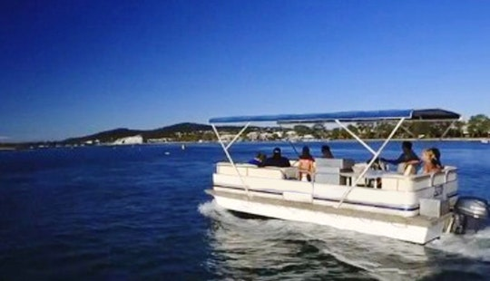 Enjoy Noosaville, Australia On 15 Seater Pontoon Deluxe