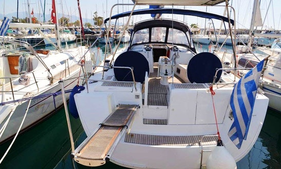Oceanis 54 Sailing Yacht Charter For 10 Person In Paleo Faliro, Greece