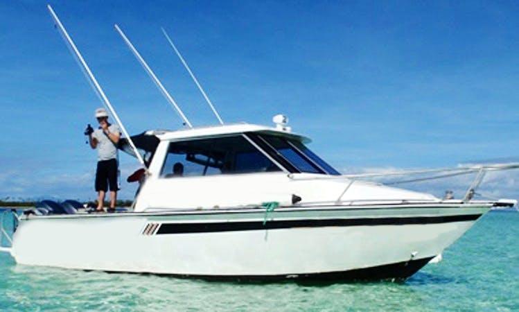 "28' ""Koi Calevu"" Head Boat Fishing Trips in Denarau Island, Fiji"