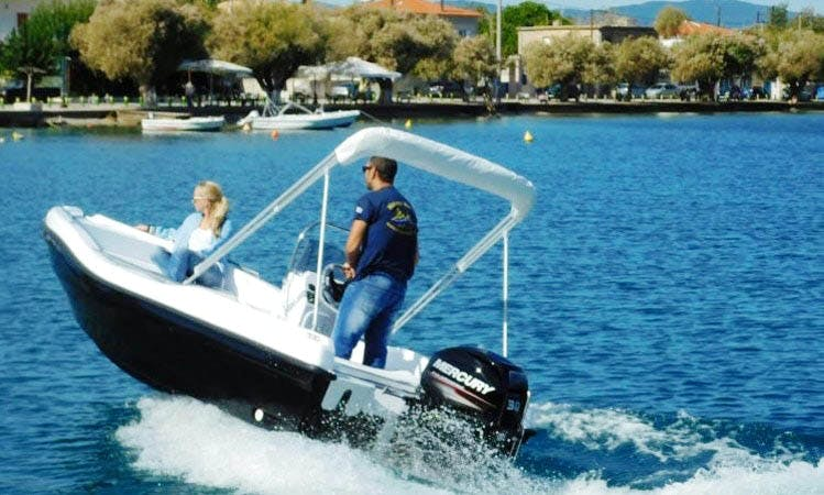 Rent Nireus 455 Center Console in Lefkada, Greece