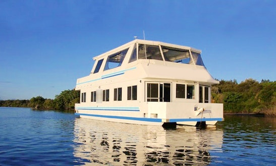Three Nights Houseboat Holiday On Houseboat In Tweed River
