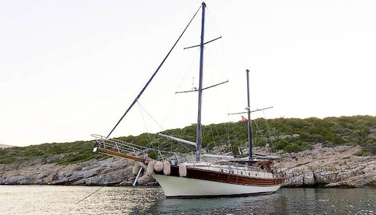 62' Sailing Gulet Charter In Muğla, Turkey