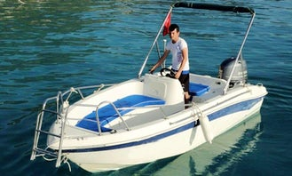 Cruise in Style on a Bowrider Charter in Muğla, Turkey