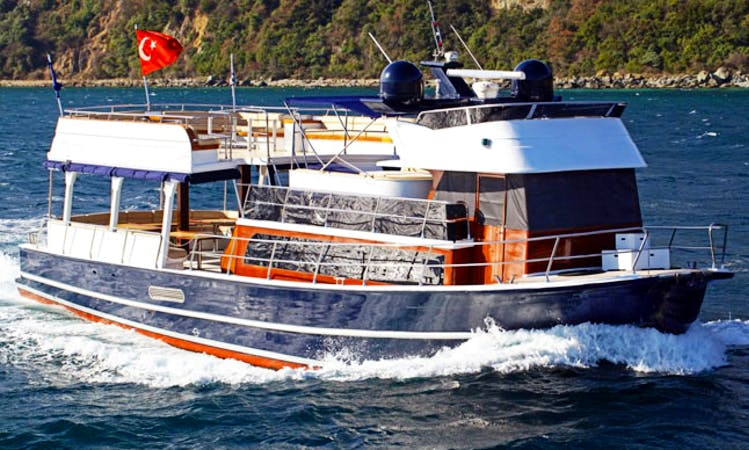 Charter 62' My Destiny 2 Power Mega Yacht in İstanbul, Turkey