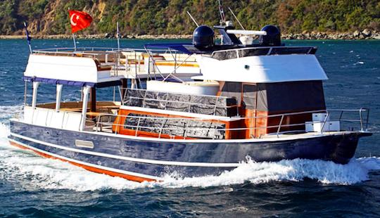 Charter 62' My Destiny 2 Power Mega Yacht In İstanbul, Turkey