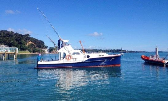34' Alma G Charter In Paihia, Northland
