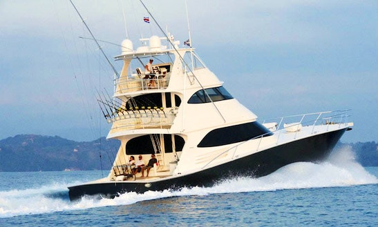 Enjoy 82' Sport Fisherman Charter In Opua, Northland