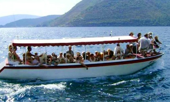 Boat Cruises For 40 People In Perast, Montenegro