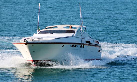 Charter 51' Cherokee Profilmarine Motor Yacht In Positano, Italy