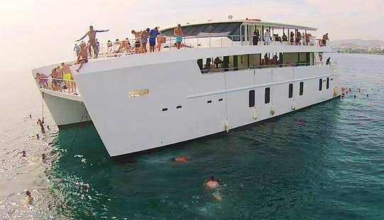 108' Power Catamaran Charter In Limassol
