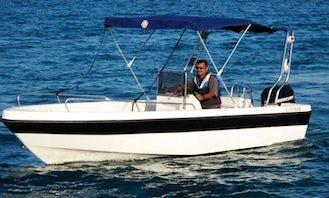 50Hp Amathunta Speedboat in Cyprus, Poli Crysochous