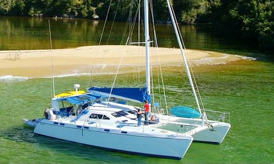 Private Catamaran Charters In Nelson