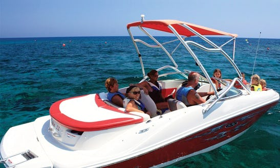 Sea Ray Sport Bowrider Boat Rental In Protaras, Cyprus