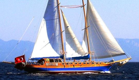 Charter Luxury Sailing Gulet In Bodrum
