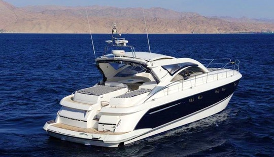 Luxury Motor Yacht Rental In Eilat