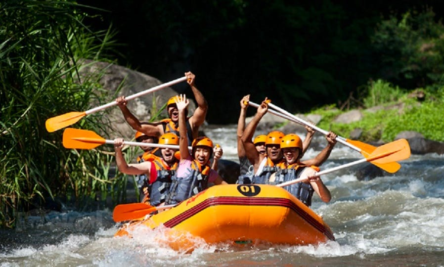Rafting in Ayung River Ubud