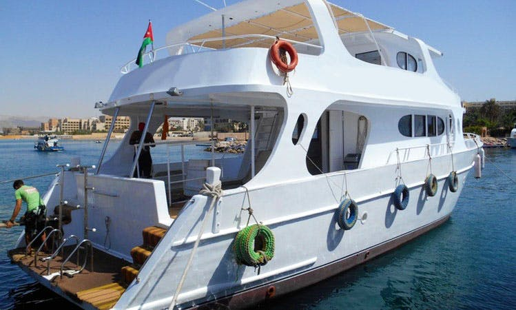 "62' Passenger Boat ""MY SEASTAR"" Diving Trips in Aqaba, Jordan"