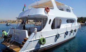 """62' Passenger Boat """"MY SEASTAR"""" Diving Trips in Aqaba, Jordan"""