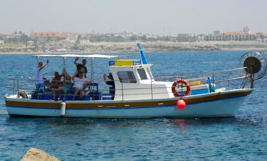 Enjoy Fishing In Paphos, Cyprus With Captain Elias
