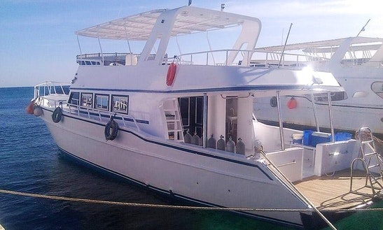 Charter A Motor Yacht In Red Sea Governorate, Egypt