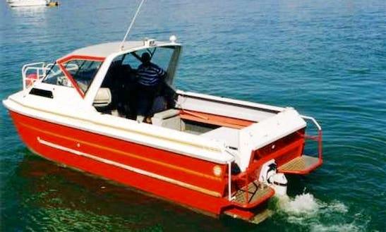 Charter 24' Power Catamaran Maitaland In Kerikeri, New Zealand