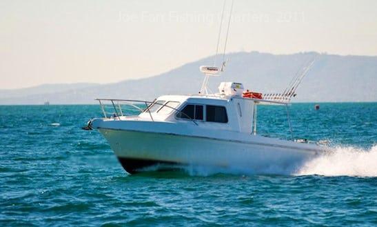 Port Phillip Bay Fishing Charter On Steber 28
