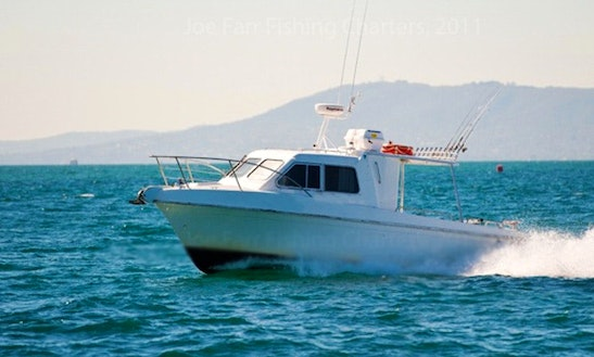 Port Phillip Bay Fishing Charter On Steber 28