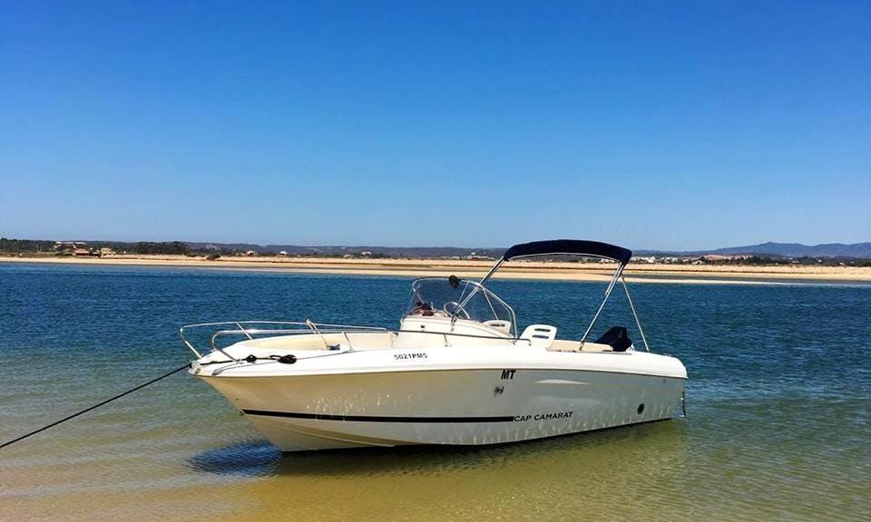 Jeanneau Cap Camarat 625 Rental in Algarve