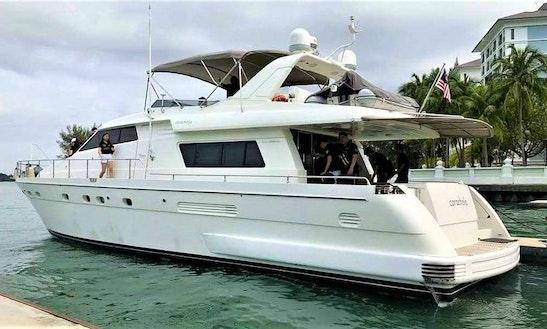 Charter 62' Sanlorenzo 62 Power Mega Yacht In Pelabuhan Klang, Malaysia