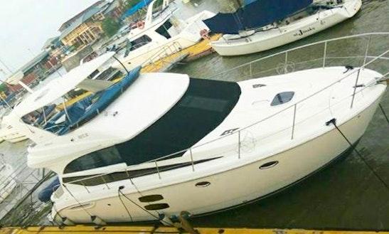 Charter 47' Meridian Sedan Bridge Motor Yacht In Pelabuhan Klang, Malaysia
