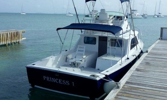 Enjoy Fishing In Anegada, British Virgin Islands On Princess 1 Sport Fisherman