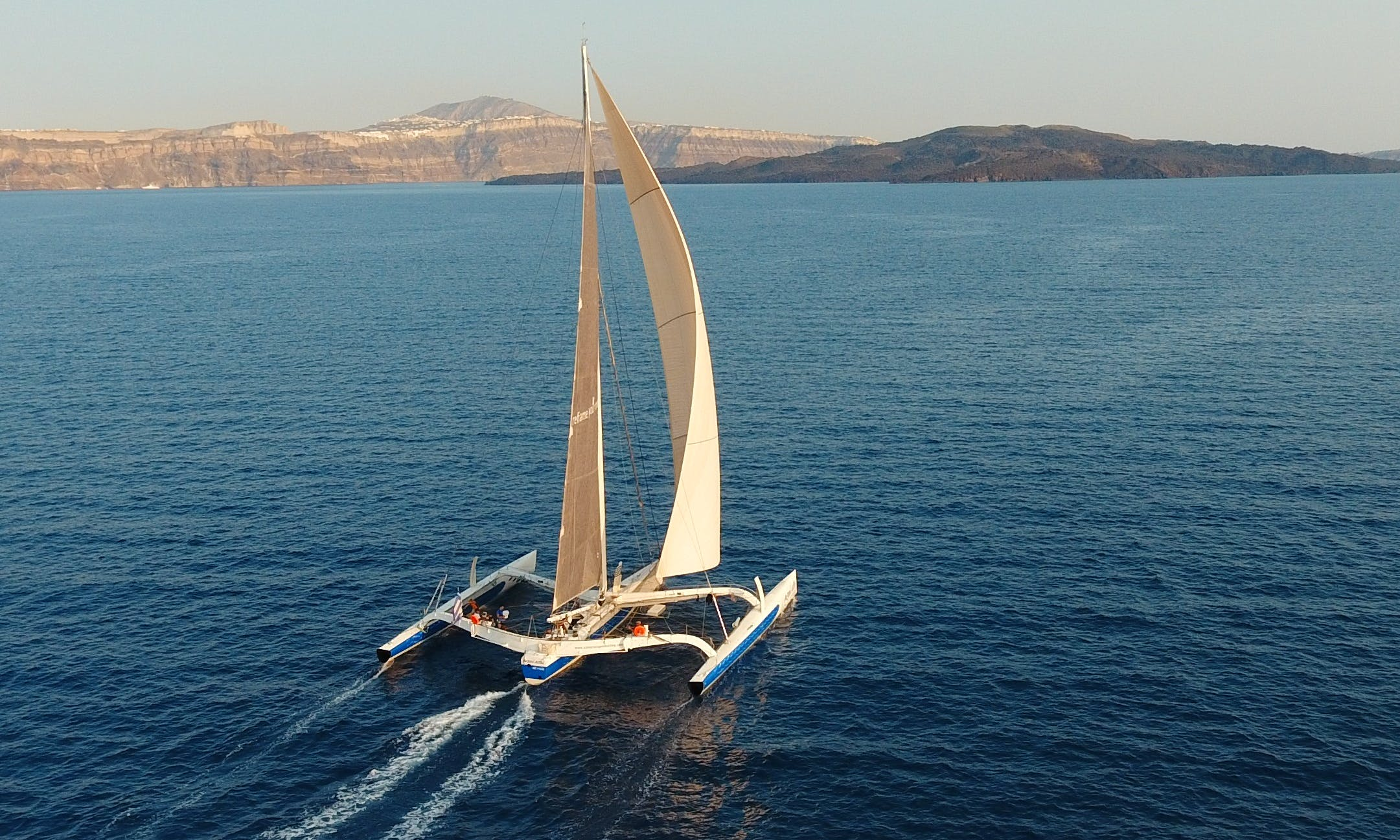 Orma60 Sailing Trimaran Rental in Vlichada