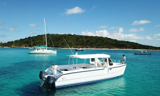 36' Power Catamaran In St Thomas, Vi