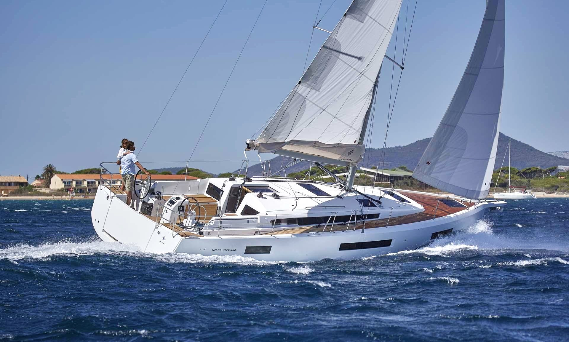 NEW! Jeanneau Sun Odyssey 440 for rent in Portugal