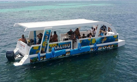 Enjoy Glass Bottom Boat Tours In Punta Cana, Dominican Republic