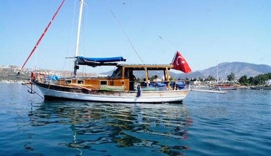 Charter 39' Sailing Gulet In Bitez, Muğla