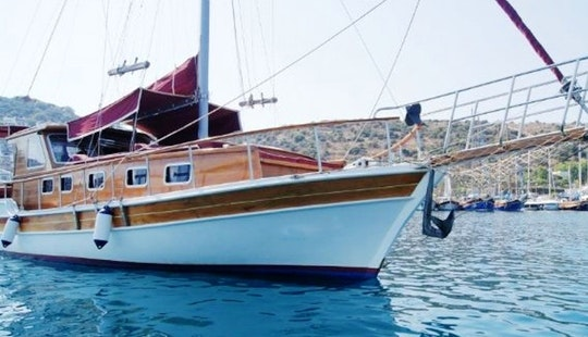 Charter 39' Gunsigi Gulet In Bitez, Muğla