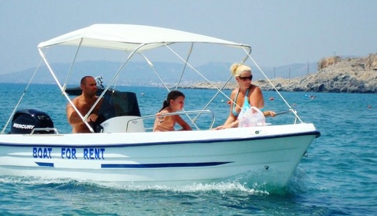 Center Console Boat Rental In Rhodes
