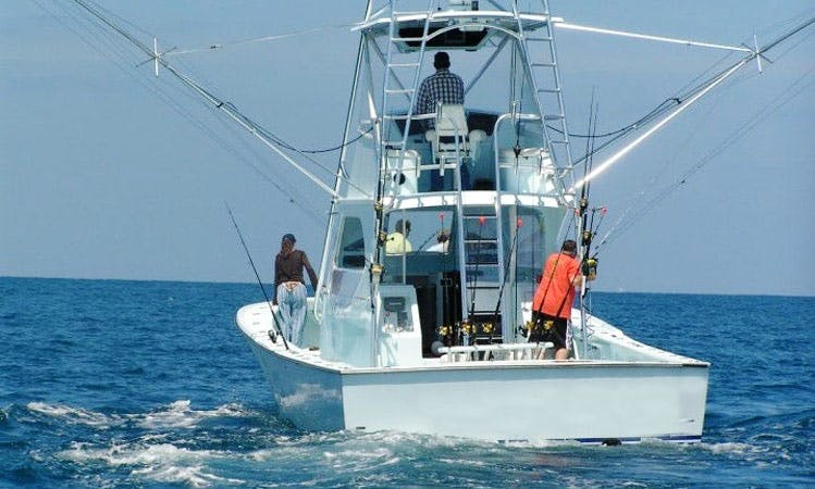 43' Sport Fishing Charter on Miss Britt II from Miami, Florida