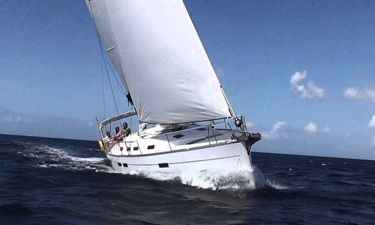 Charter 47' Bavaria Cruiser 45 Cruising Monohull In Lefkada, Greece
