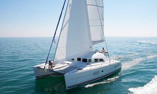 Charter 38' Lagoon 380 S2 Cruising Catamaran In Lefkada, Greece