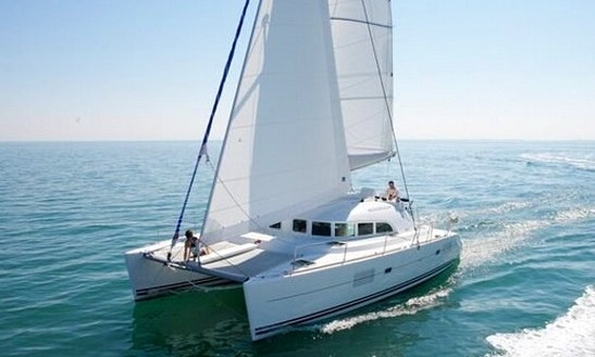 Charter 38' Lagoon 380 S2 Cruising Catamaran In Lefkada, Greece