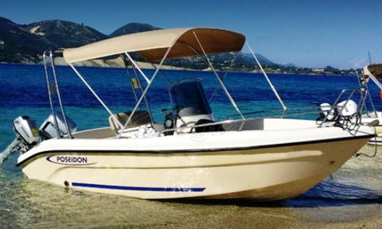 Rent This Msall Boat For Up To 5 People In Agia Pelagia, Greece